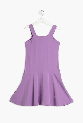Candy Print Sleeveless Dress