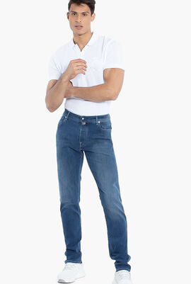 Washed Cotton Jeans
