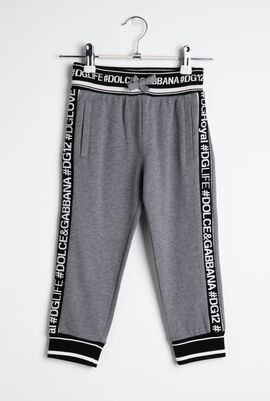 Tape Cotton Trousers