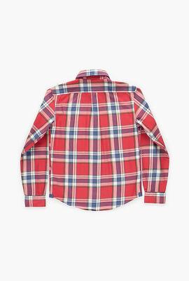 Multi Plaid Checks Shirt