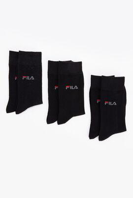 3 Pack Crew Length Socks