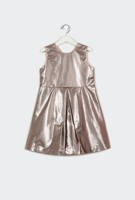 Metallic Bodice Dress