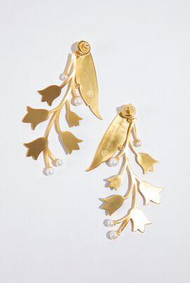 Bell Flower Drop Earrings