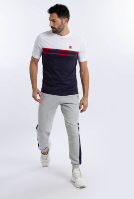 Stripes Cotton T-Shirt