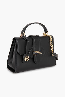Bleecker Small Leather Satchel Bag