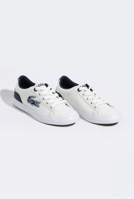 Lerond 319 4 Cuc White/Navy Canvas Sneakers