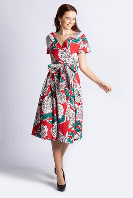 Oronte Printed Dress