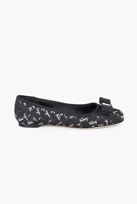 Varinab Patterned Ballet Flats