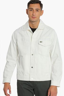 Multi-Pocket Denim Jacket