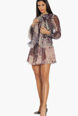 Floral Ruffled Tunic
