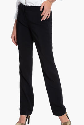 Straight Fit Drainpipe Pants