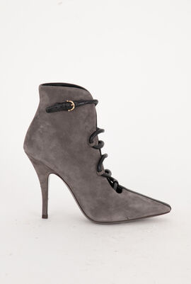Leather Ankle booties