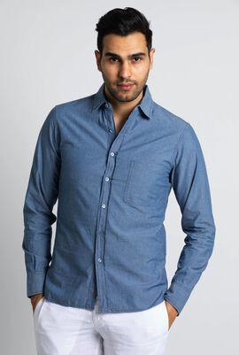 Caracal Soft Denim Long Sleeve Shirt