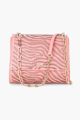 Audrey Cut-Out Detail Shoulder Bag