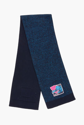 Logo Knit Scarf