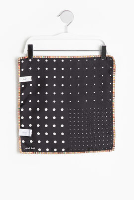Polka-dot Pocket Square