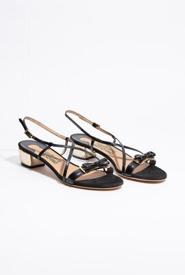 Bow Crisscross Sandals