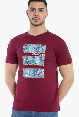 Printed Cotton T-Shirt