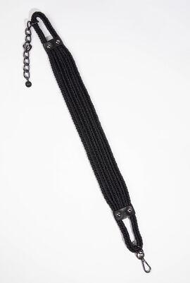 Black Tedesco Belt-Suspenders