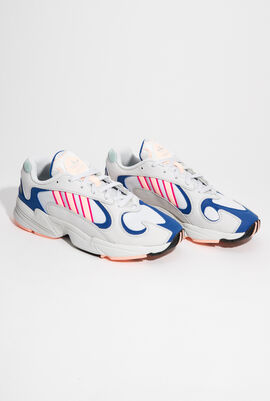 Yung-1  Crystal White Sneakers for Men