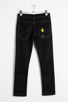 Denim Stretch Trousers