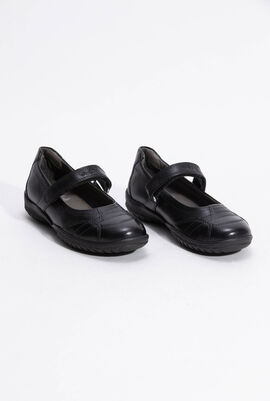 J Shadow Black Flats