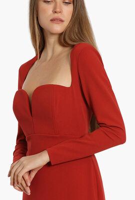 Sweetheart Neck Long Dress