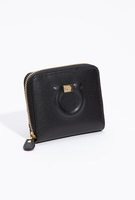 Small Gancini Zip Around Wallet