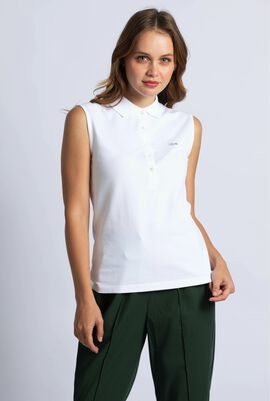 Slim Fit Stretch Sleeves Polo Shirt