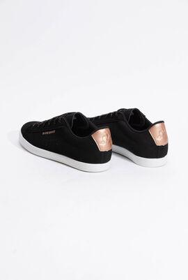 حذاء رياضي بدرجة لون Metallic Black/Rose Gold من Agate