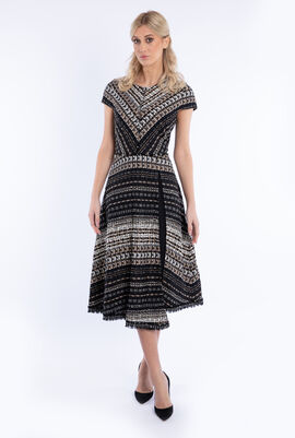 Midi Tweed Dress