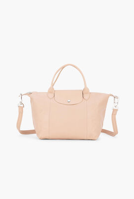 Le Pliage Leather Handbag