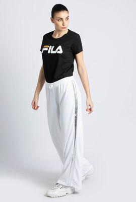 Silvy Side Split Flared Pants