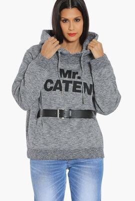 Mr Caten Belted Hoodie