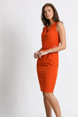 Dattero Cotton Sheath Dress