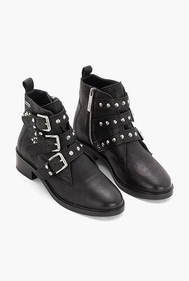 Devon Straps Ankle Boots