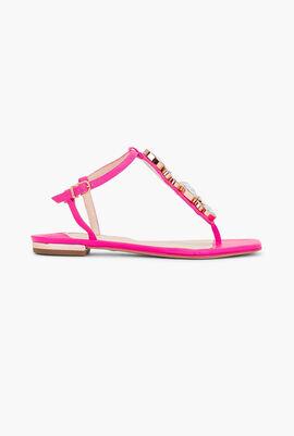 Ritzy Flat Sandals