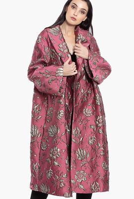 Trousse Jacquard Overcoat