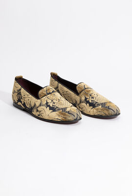 Black trimmed Loafers