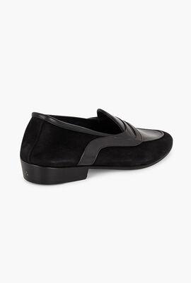 The Sagan Saddle Penny Loafer Shoes