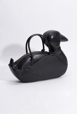 Pebbled Grain Duck Icon Tote Bag