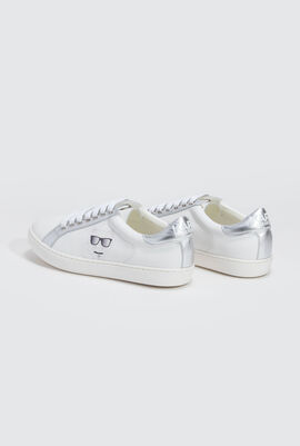 Choupette Leather Sneakers