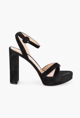 Camoscio Heels Sandals