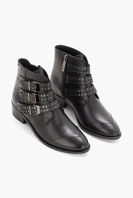 Chiswick Lessy Leather Ankle Boots