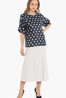 Road A-Line Skirt
