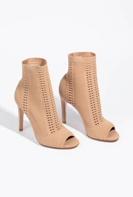 Vires Knit Praline Boots