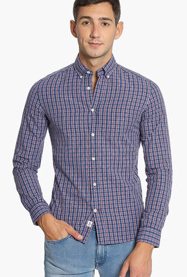 Delave Prep Check Slim Fit Shirt