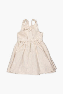 Jacquard Bow Dress