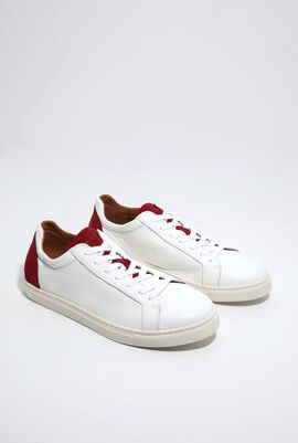 SLHDavid Contrast Lace-Up Sneakers