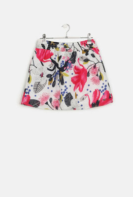 Floral Tulip Skirt